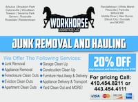 Junk Removal and Hauling Baltimore