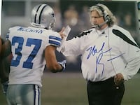 Rob ryan signed cowboys photo! Hemet, 92545