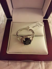 Saphire. Sterling silver Bailey's Crossroads, 22041