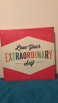 Love Your Extraordinary Self printed frame Calgary, T3R
