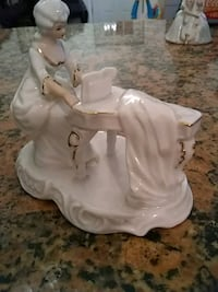 white ceramic angel figurine table decor College Park, 20740