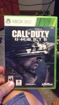 Call of Duty Ghosts Xbox 360 game case Elkhart, 46517
