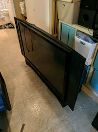 Huge rear projection tv