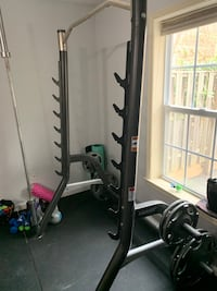 Bench/ Squat/ Pull Up Weight set