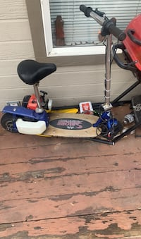 Gas powered scooter