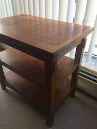 Wood Side Table-63*43*63cm Calgary, T2G 2P3