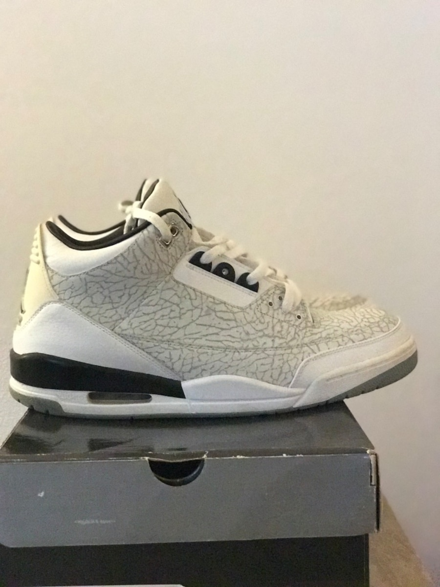 Retro Jordan 3's both pair for price listed size 13 - CA
