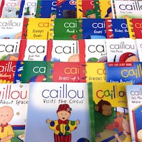 Lot 29 Caillou Books Picture Storybooks Toddlers Young Children Chouette Series Port Colborne