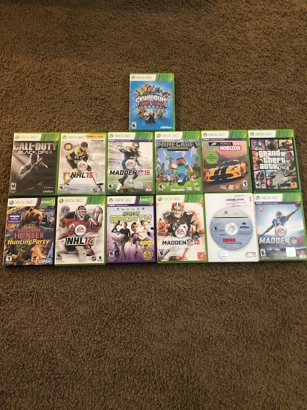 Xbox 360 bundle with 13, games, 2 controllers and Kinect system c5109782-ddc0-4f1e-8aa1-488e471cdaca