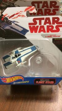 Hot Wheels Star Wars A-Wing Fighter die-cast model toy pack Fort Worth, 76244