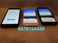 Smartphones for Sale Samsung Galaxy J3 / J7 / S7 / S7 Edge / S6 / S6 Active / S5 / Note 4 / Note 5 / LG V20 *READ DETAILS* Mississauga
