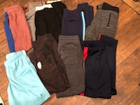 Boys size 14/16 joggers and gym shorts