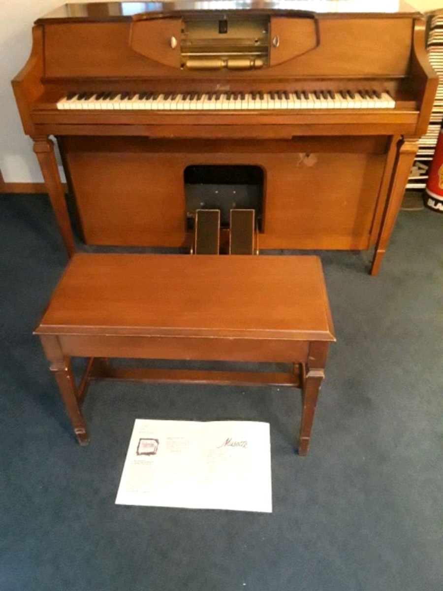 Photo Electric Player Piano Musette
