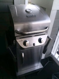 stainless steel and black gas grill Willow Springs, 60480