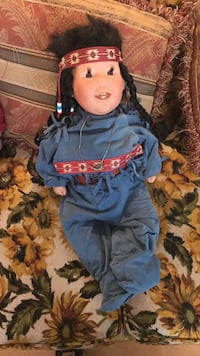 Native American porcelain doll Albuquerque, 87111
