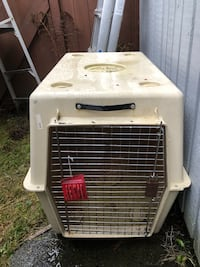 "Dog cage  Size 48""L X 32""W X 35""H"