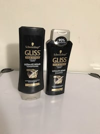 Gloss hair repair shampoo and conditioner