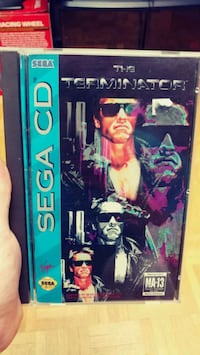 The Terminator For Sega Cd. Mint and Complete Toronto, M4C 5A2
