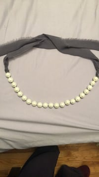 Club Monaco pearl necklace