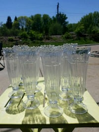 clear glass pitcher and drinking glasses Saint Paul, 55113