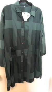 Dark Green Plaid Tunic Toronto, M1C 2G2