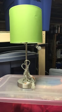 green and white table lamp 264 mi