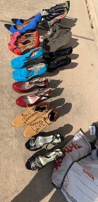 assorted color shoes and sandals Fredericksburg, 22406
