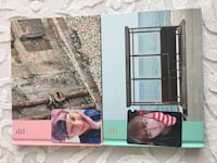 BTS YouNeverWalk Alonepinkblue version2poster2photocardstand photocard Sancaktepe, 34785