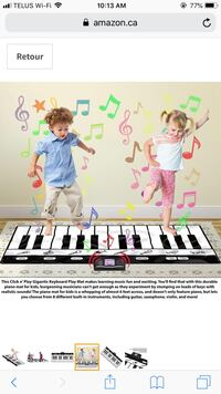 Floor Piano mat for kids