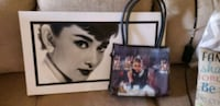 Audrey hepburn picture and purse Madison, 35757