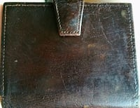 Distressed Leather CardHolder, made in England San Francisco