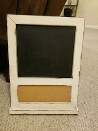 Chalkboard/corkboard with aged finish  Baltimore, 21229