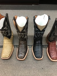 Men's all sizes Caiman Belly Boots  Sugar Land, 77498