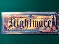 Nightmare VCR board game (with DVD)