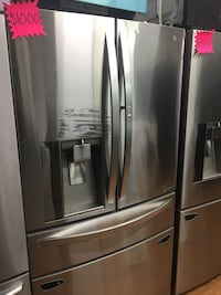 LG 4 Door Steel Refrigerator  Fountain Valley, 92708
