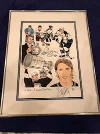 Autographed Limited Edition Brad Richards Hockey Picture