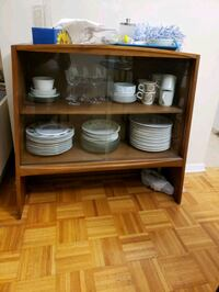 DISPLAY CABINET/ HUTCH