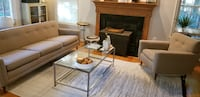 Authentic Mid-Century Modern Sofa & Matching Chair
