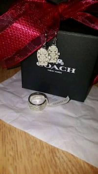COACH NEW ring and earring set Panama City, 32401