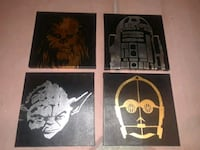 "Star Wars 12""x12"" Wall Art Officially Licensed  Las Vegas, 89117"