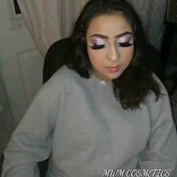 Makeup Application by Certified Makeup Artist Mississauga