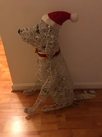 Indoor/Outdoor Christmas Dog Decoration Chantilly, 20151
