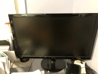 black LG flat screen TV White Plains, 20695
