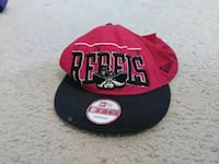 red and black New Era 9Fifty fitted cap Herndon, 20171