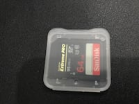 64gb Extream Disk for Photography etc