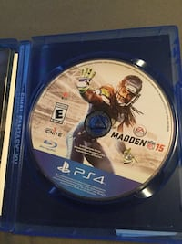 PS4 Madden NFL 17 game disc
