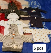 Baby boy NB clothes 44pcs