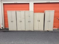 2-Door Smaller Storage Cabinets  Used, selling as singles Clover, 29710