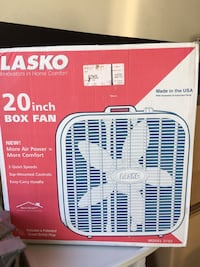 White Lasko 20 inch box fan San Jose, 95130