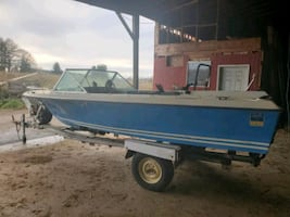 1975 Glasply 16ft boat